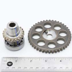 Camshaft and Water Pump Sprocket