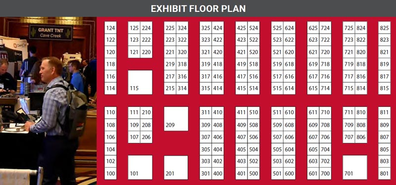 Trade Exhibit Floor Plan