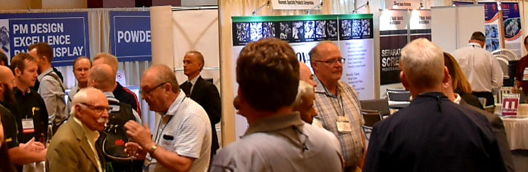 Exhibit Hall in Action
