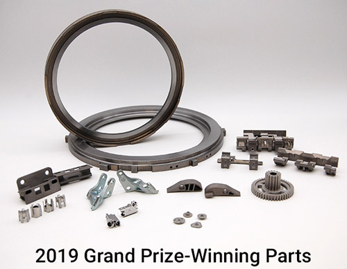 2019 Grand Prize Winning Parts